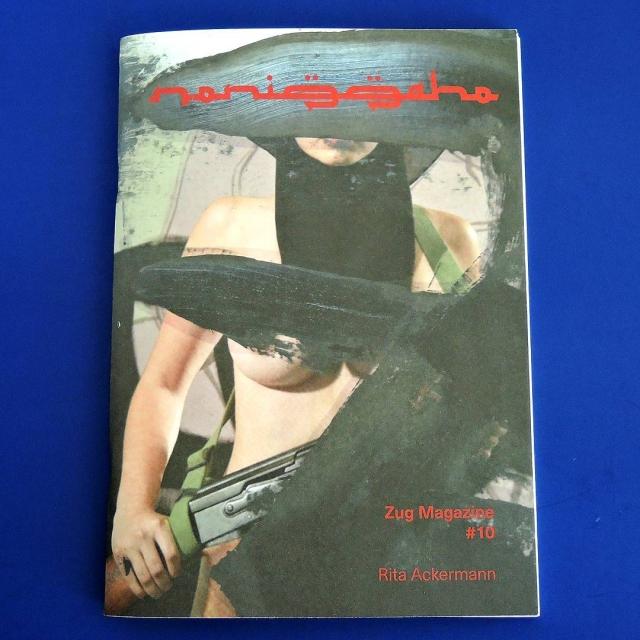 Zug Magazine 10, guest editor #ritaackermann photos by @richardkernnyc published by @innen_books out now zinekong.com