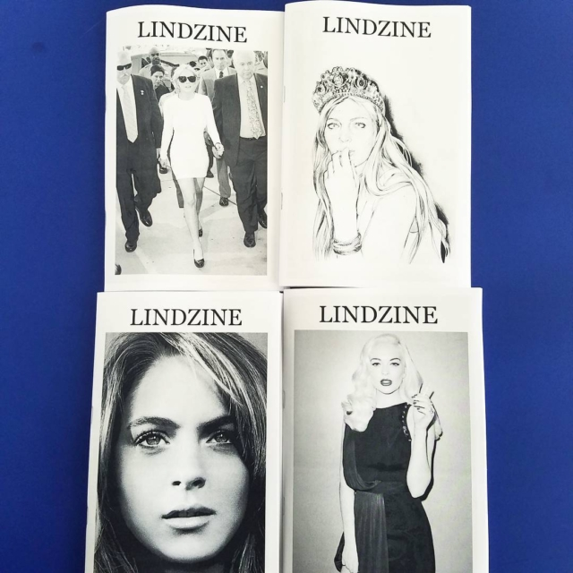 The triumphant return of LINDZINE by @thewormholes we got all 4 volumes of this exploration of alien control over earth humans