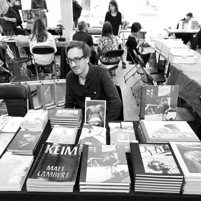 Claudio and his beautiful books buy them all @pogobooks