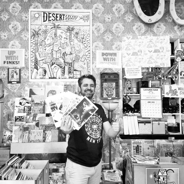 If u live in Brooklyn, u can buy our zines @desertislandcomics they have been a long time supporter so go shop there!